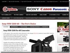 4K-Camcorder nehmen die Welt im Sturm