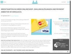 Vorteile der Kreditkarte-Zahlung Lösungen für Business